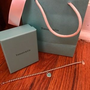 Tiffany and Co. bracelet with heart. Authentic!
